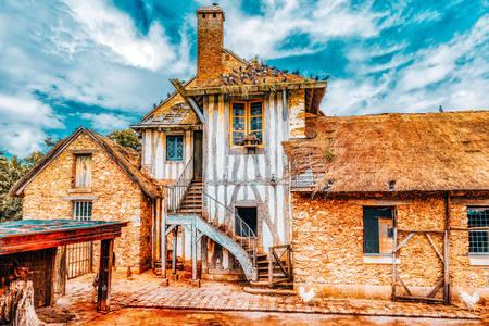 Farma v obci Marie Antoinette