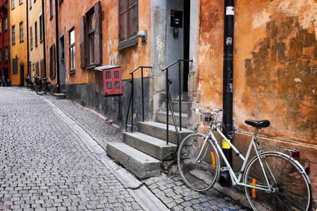 Οδός στην περιοχή της Παλιάς Πόλης