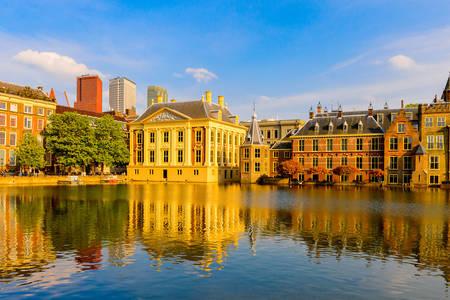 Pogled na Binnenhof u Hagu