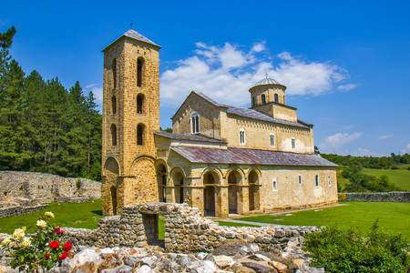 Sopochany monastery