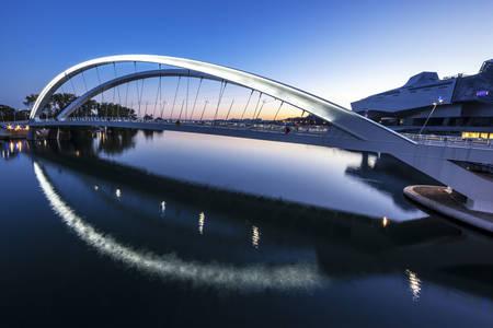 Raymond Barre bridge in Lyon