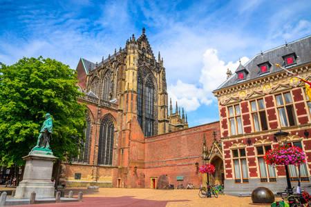 Vista da Catedral de Utrecht