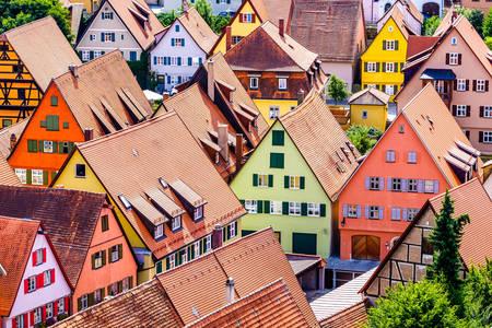 Houses in Dinkelsbühl