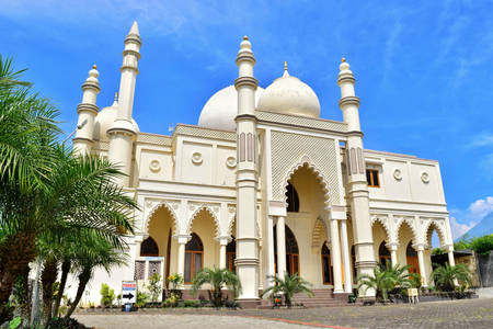 Salman Al-Farisi Mosque in Malang