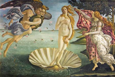 "Sandro Botticelli: ""Rođenje Venere"""