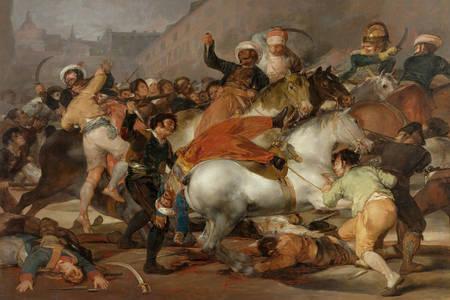 """Francisco de Goya: """"De beschuldiging van de Mamelukken"""""""