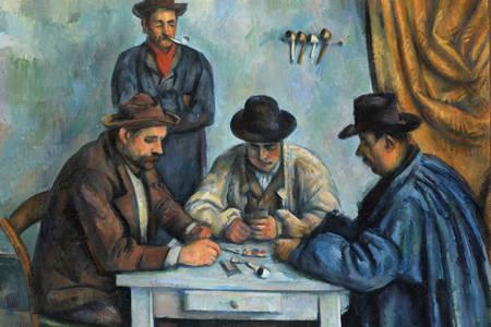"Paul Cezanne: ""Hráči kariet"""
