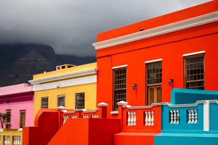 Bright houses in Bo-Kaap