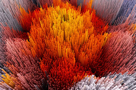 Abstraction 3D: Corail