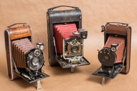 Фотокамеры прошлого века