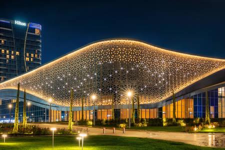 Kongresshalle und Hilton Hotel