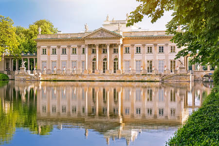 Lazienki Palace in Warsaw