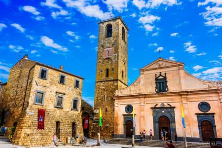 Εκκλησία του San Donato στο Civita di Bagnoregio