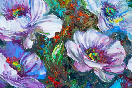 Malování květinami
