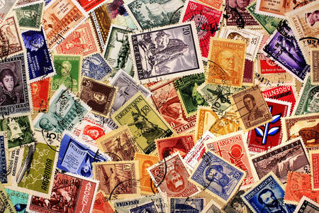 Argentine vintage stamps