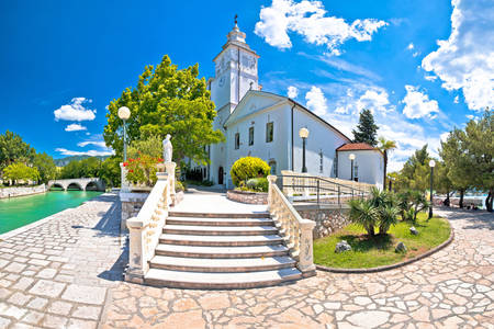 Church of the Assumption of the Blessed Virgin Mary in Crikvenica