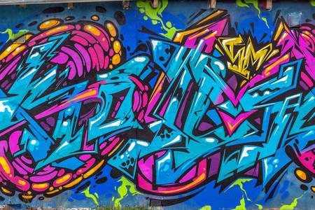 Abstrakcia graffiti
