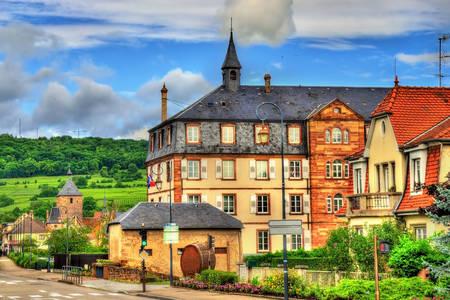 Σπίτια στο Molsem