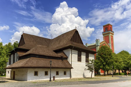 Iglesia articular de madera en Kezmarki