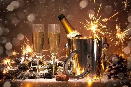 Szampan na Nowy Rok