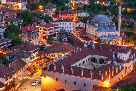 Evening city of Safranbolu