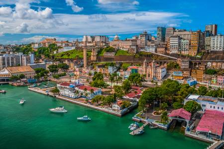 Pohled na město Salvador