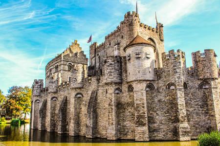 Замъкът на графовете на Фландрия