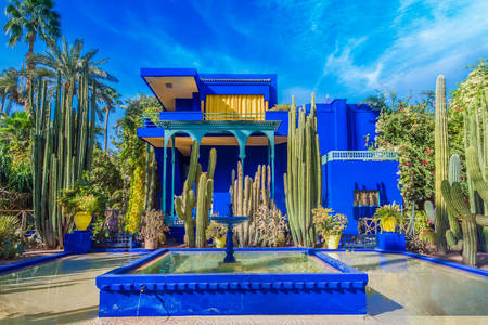 Villa Majorelle in Marrakesh