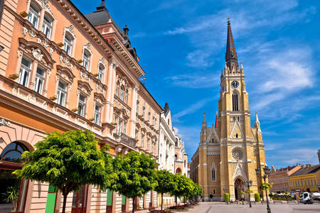 Novi Sad şehir meydanı
