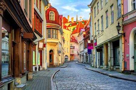 Вулиця в старому Таллінні