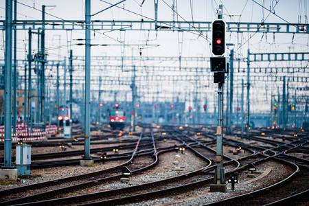 Zurich railway lines
