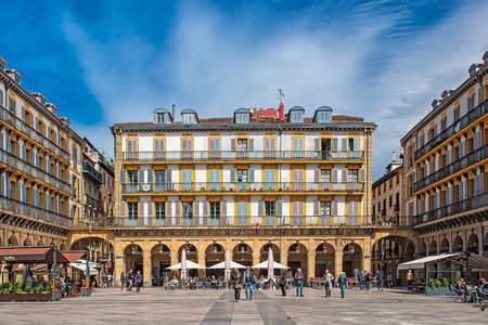 New square in Bilbao