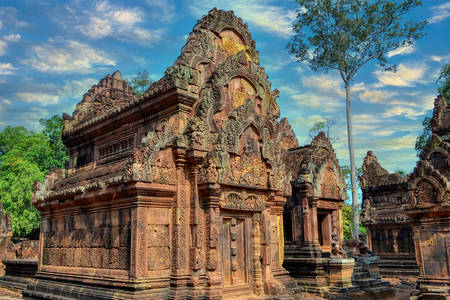 Banteay Srei templom