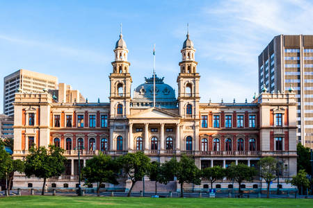 Palace of Justice on Church Square in Pretoria