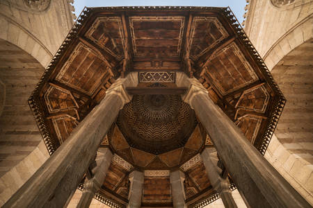 Ceiling of the mosque-madrasah of Sultan Barkuk