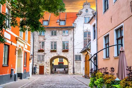 Οδοί της παλιάς Ρίγας