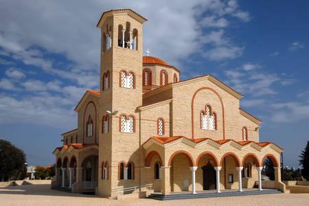 Church of Agios Kyriakos in Kiti