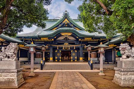 Anahachimangu shrine in Tokyo