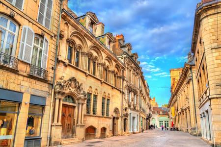 Arquitectura callejera en Dijon