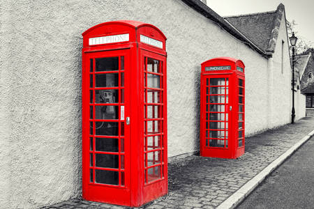 Cabines telefônicas