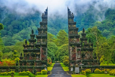 The Broken Gate of Temples in Bali