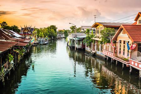Річкові канали Бангкока