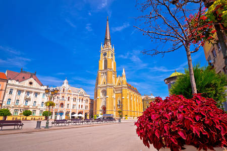 Церква Марії на площі Свободи
