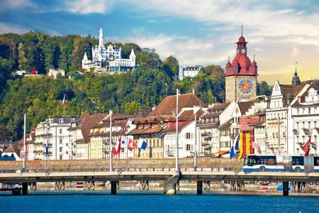 Pohled na Lucernu