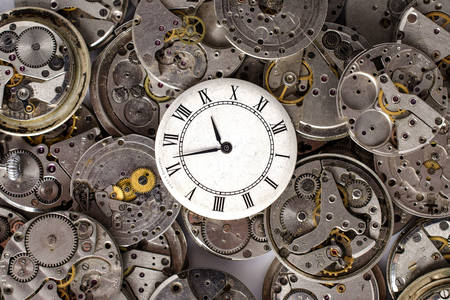 Clocks and mechanisms