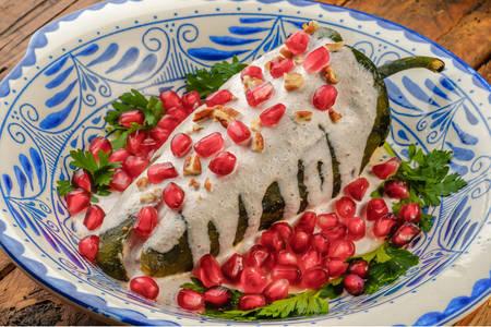 Peperoni messicani in salsa di arachidi