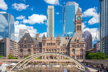 Nathan Phillips Square in Toronto