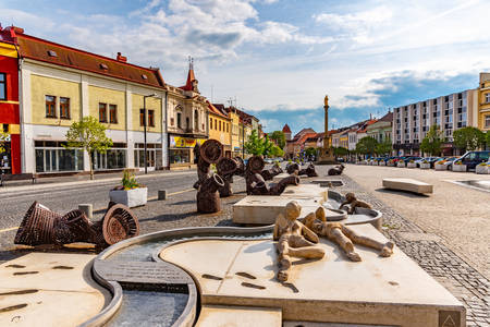 Староміська площа в Млада-Болеславі