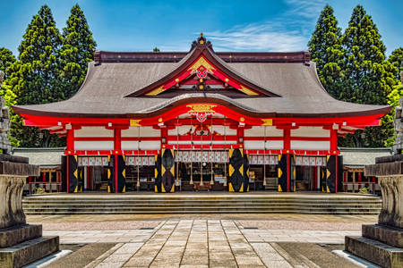 Hie Temple in Tokyo