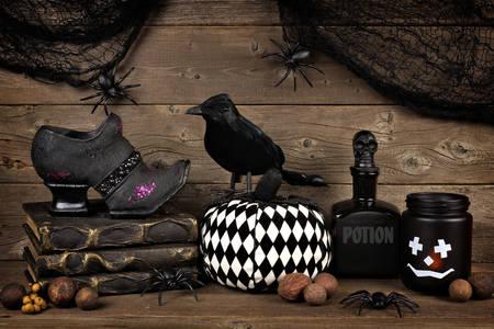 Halloween interior items